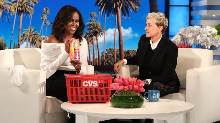 Michelle Obama Talks with Birthday Girl Ellen About Post-White House Life - YouTube