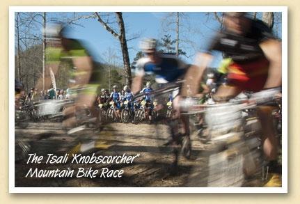 """The Tsali """"Kickstarter"""" Mountain Bike Race"""
