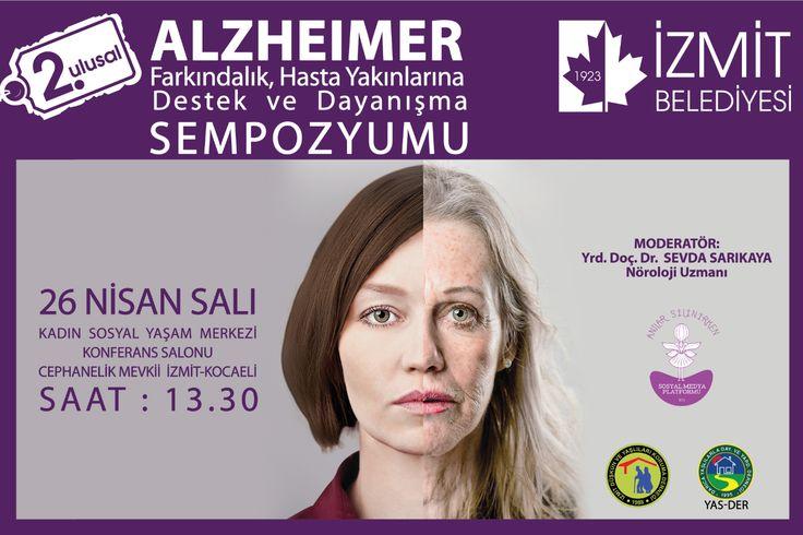 II. Ulusal Alzheimer Farkındalık ve Hasta Yakınları Destek Sempozyumuna davetlimizsiniz.