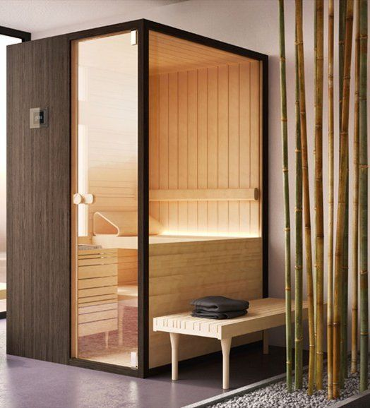 #Sauna LOYLY by GLASS IDROMASSAGGIO | #design Doshi Levien #wellness
