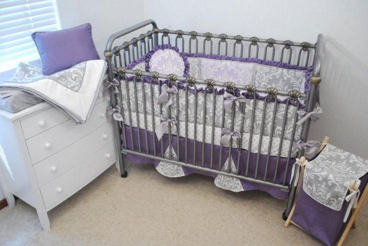 lilac nursery bedding 1