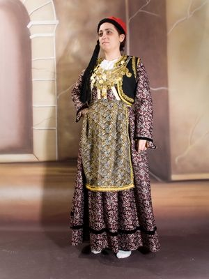 Macedonian clothes - Siatista, #Macedonia Greece - Σιάτιστα