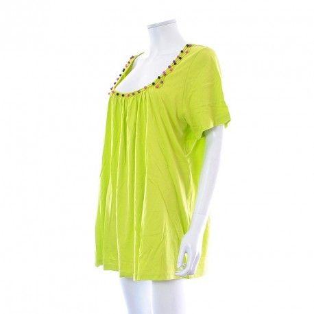 Blouse - Tailliszime by La Redoute à 6,99 € : Découvrez notre boutique en ligne : www.entre-copines.be | livraison gratuite dès 45 € d'achats ;)    L'expérience du neuf au prix de l'occassion ! N'hésitez pas à nous suivre. #Grandes Tailles #La Redoute #fashion #secondhand #clothes #recyclage #greenlifestyle # Bonnes Affaires #grandetaille #bigsize