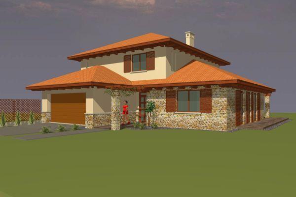 Fosztó András - Mediterrán családi ház