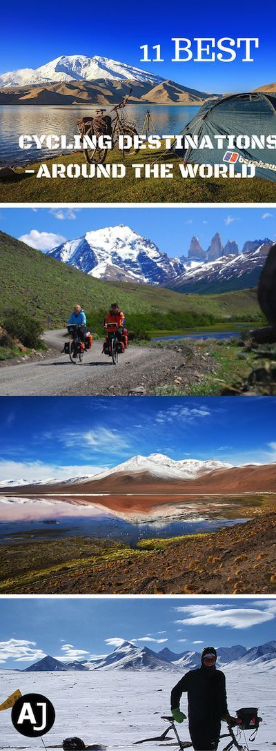 Best Bicycle Touring Trips Around The World – Bike Touring Destinations – Best Cycling Routes Around The World via @theadventurejunkies