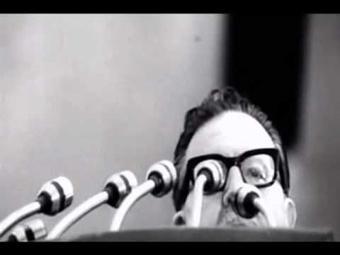 Salvador Allende 1971 speech EN ESPANOL - No daré un paso atrás... (1971) - YouTube