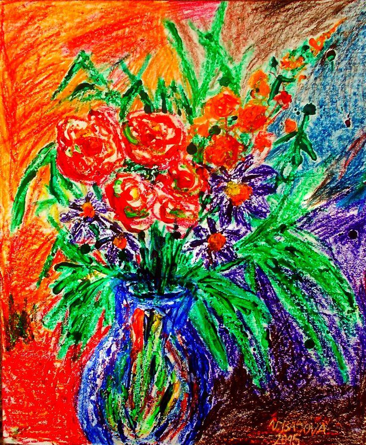 Maľovala Viktória Bajová