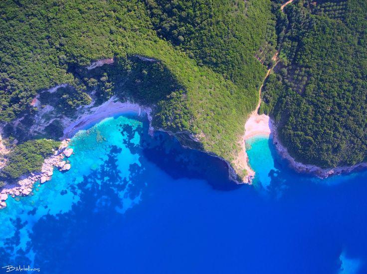 Όταν η φύση ζωγραφίζει θαυμαστά τοπία της Κέρκυρας. Δείτε 2 φωτογραφίες από ψηλά