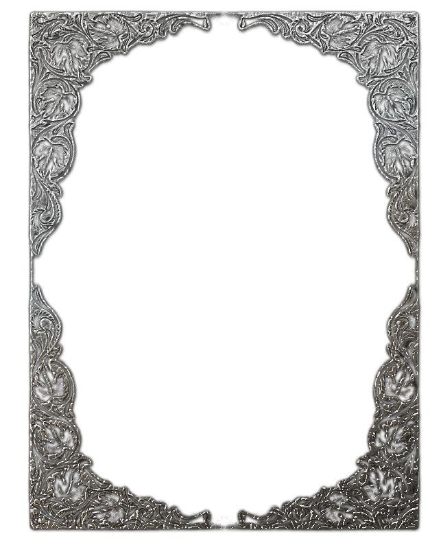 Rámečky kovové čtverec a obdélník | Tvoření