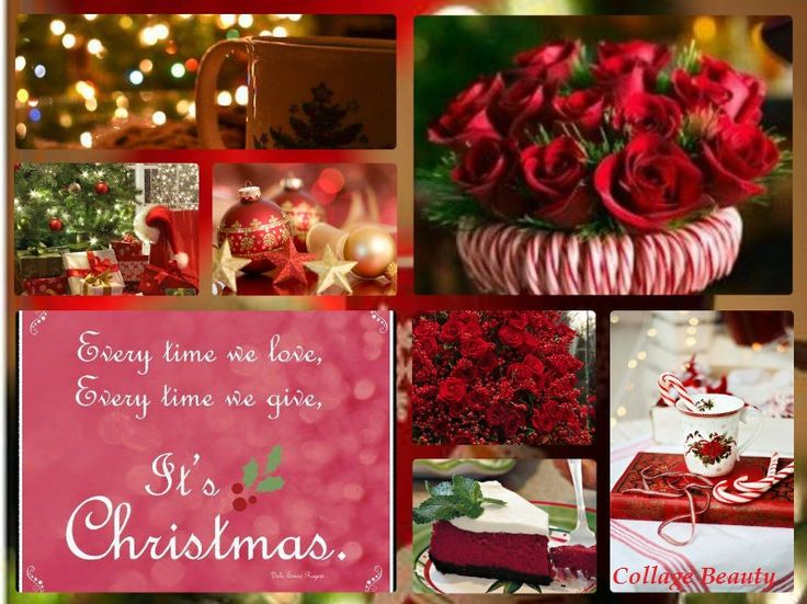 christmas in red