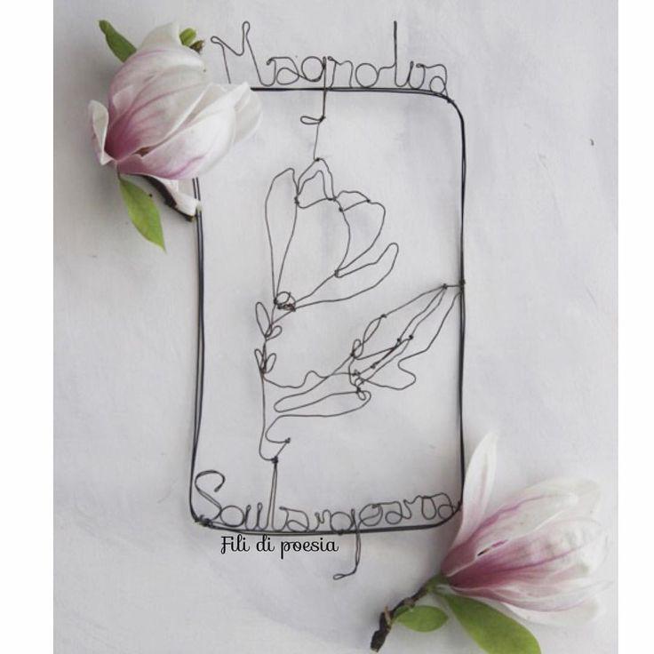 """""""Mi piace"""": 167, commenti: 18 - Daniela Corti•Wire & Textile (@filidipoesia) su Instagram: """"Botanical 🌸Impossibile eguagliare la natura"""""""