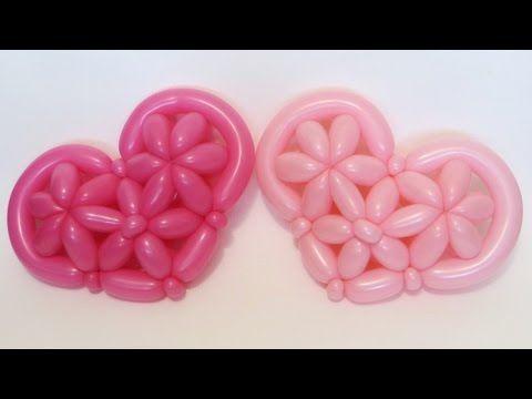 Сердце из шаров плетеное / 3D heart of balloons wicker (woven),twisting - YouTube