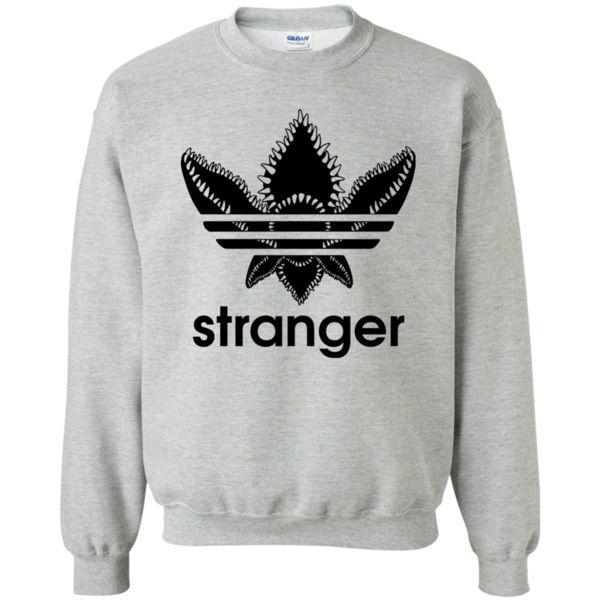 Stranger Things Stranger Demogorgon Adidas Logo Shirt, Hoodie, Long Sleeve available.