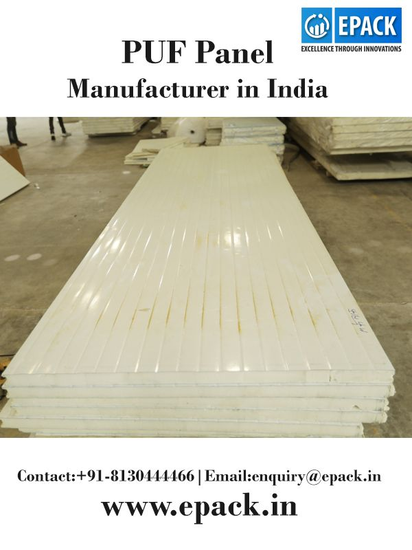 EPACK is one of the leading PUF panel manufacturer in India