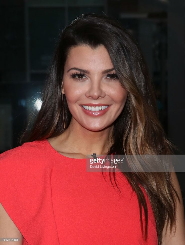 Actress/host Ali Landry poses at Hollywood Today Live at W Hollywood on February 17, 2017 in Hollywood, California.