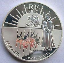 France 2005 Silver Coin Battle of Soleil d' Asterlitz Napoleon