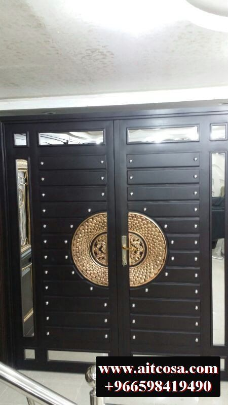 ابواب حديد خارجية 96659841490 Iron Gate Design Steel Gate Design Metal Doors Design
