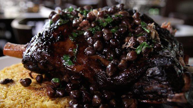 Platelist Chef Michael Solomonov laffa bread hummus masbacha lamb shoulder with pomegranate