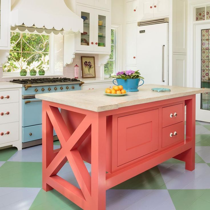 💭Looking for coral coloured inspiration for your dream home follow us on  Pinterest 📌 @homebybelle instagram @h… | Funky kitchen, Coral home decor,  Kitchen remodel