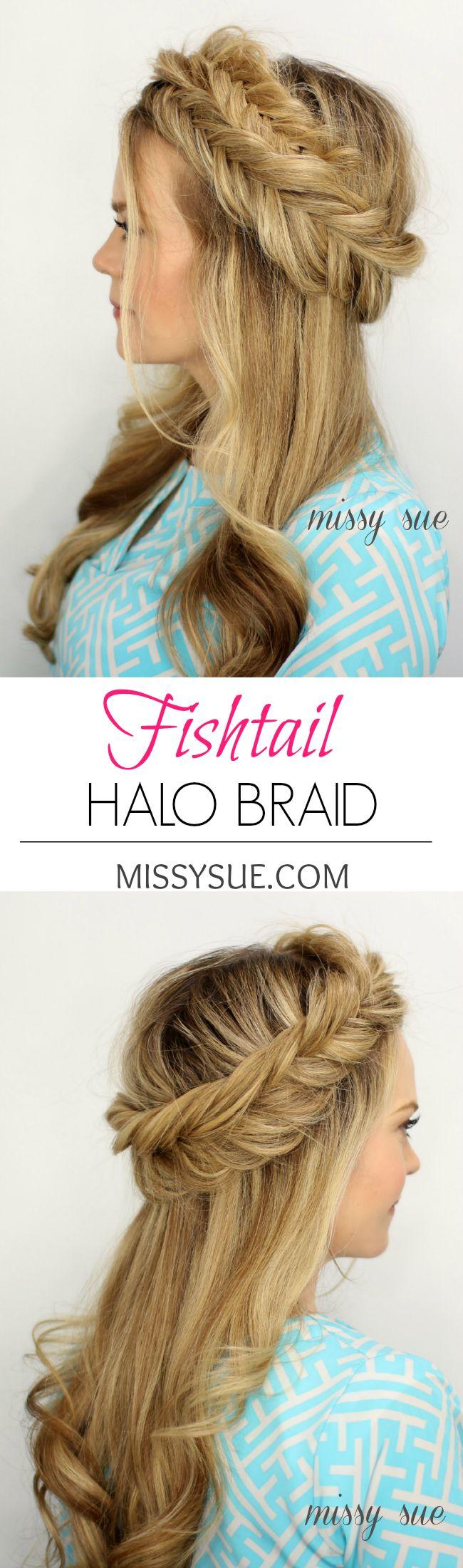 Fishtail Crown Braid   MissySue.com