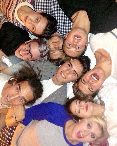 Louis, Tyler, Troye, Jim, Marcus, Alfie, Joey, Zoe, and Louise!