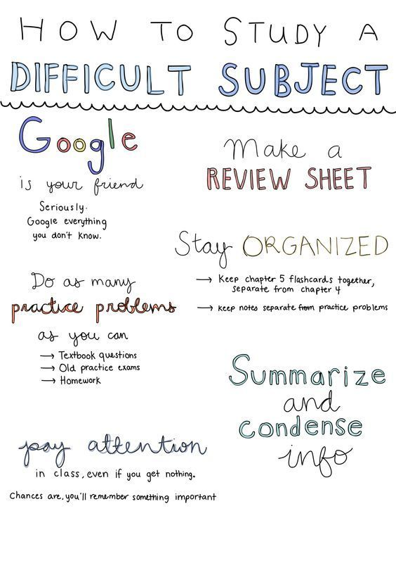 Here's How to Have a Great Semester {Helping Your Study | Make Your Study a Success | Studying With The Right Technique | Study Success Is Pla …