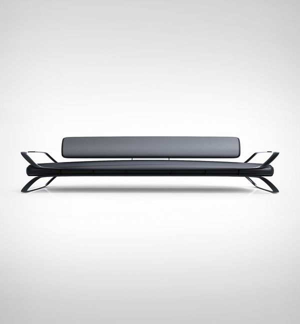 """Airport Sofa"" (2007) by charlie nghiem, via Behance"