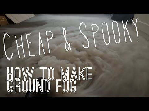 how to make fog without a fog machine