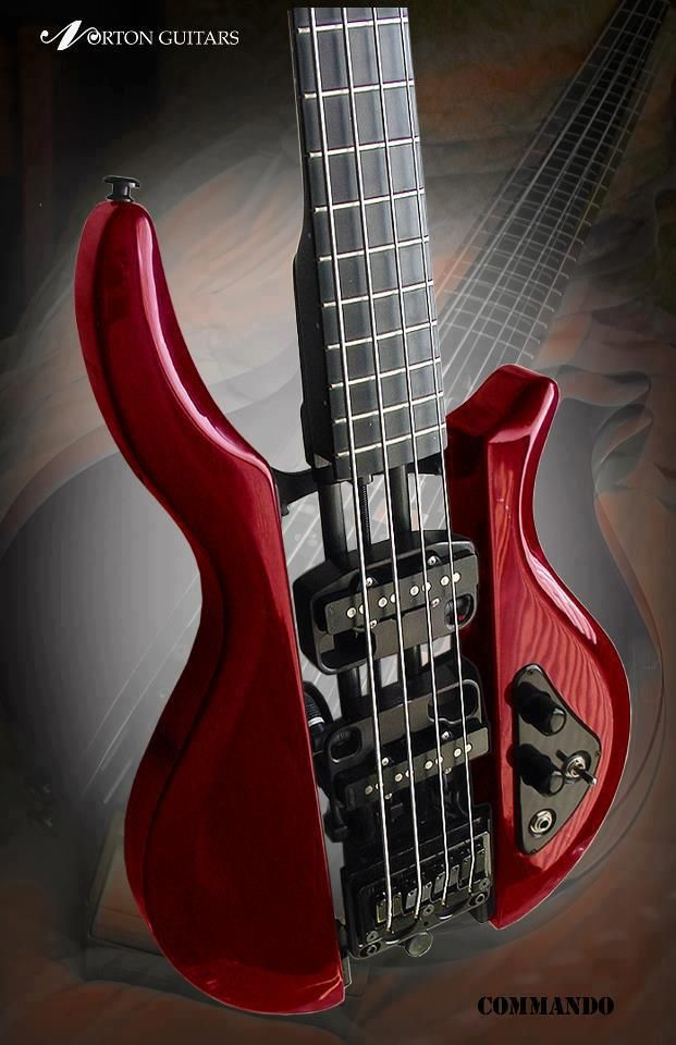 Norton Bass Guitar - Shared by The Lewis Hamilton Band - https://pro.beatport.com/artist/1000dayswasted/411731 - www.lewishamiltonmusic.com