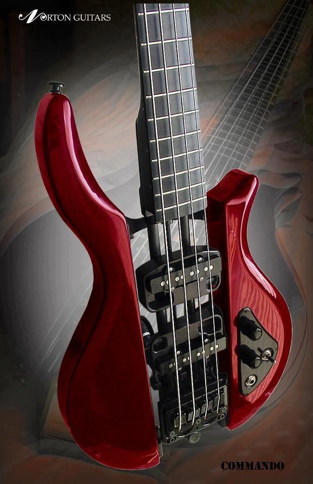 Norton Bass Guitar  - Shared by The Lewis Hamilton Band - https://www.facebook.com/lewishamiltonband/app_2405167945  -  www.lewishamiltonmusic.com