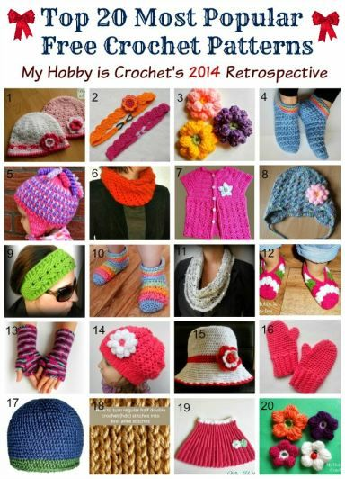 Top 20 Most Popular Free Crochet Patterns