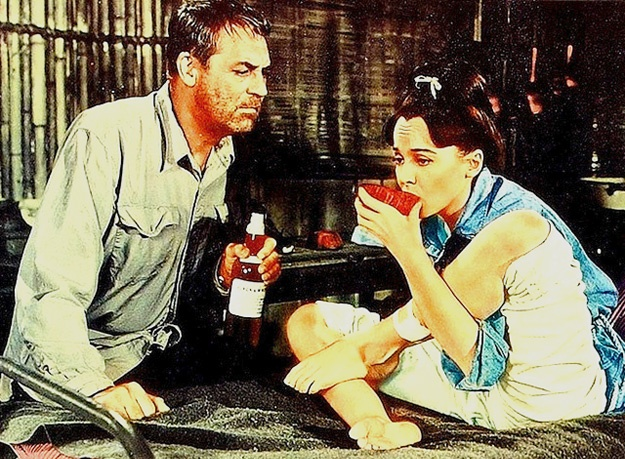 Father Goose, 1964. By Ralph Nelson with Cary Grant and Leslie Caron.