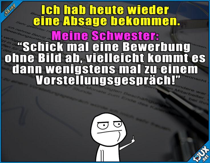 Geschwisterliebe x.x  #Bewerbung #Bild #hässlich #gemein #fies #Sprüche #lustigeSprüche #Humor #lustig #Jodel #Memes #lustigeMemes