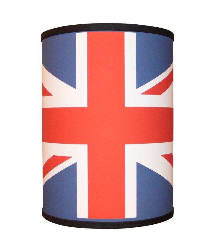 Union Jack Lamp Shade on Chairish.com