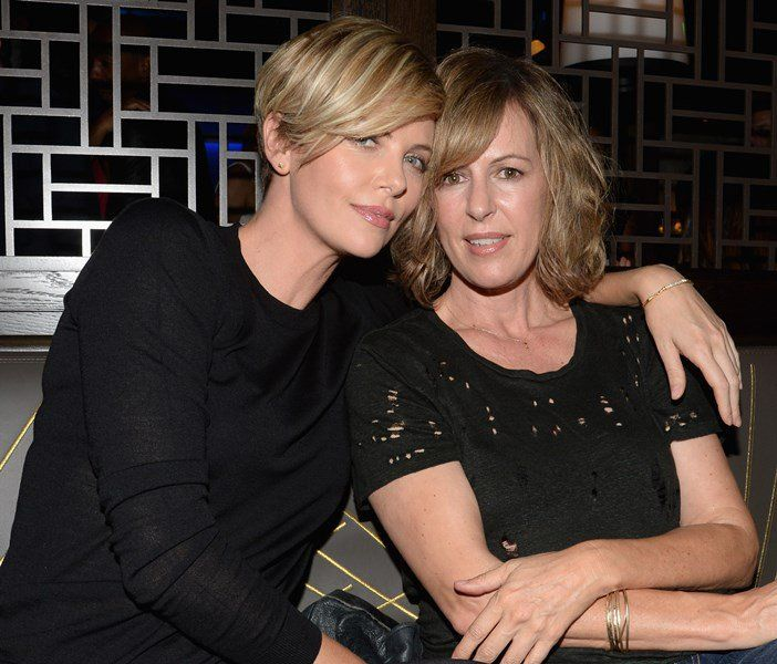 Lainey Gossip|Charlize Theron's growing out hair is amazing and on Sesame Street