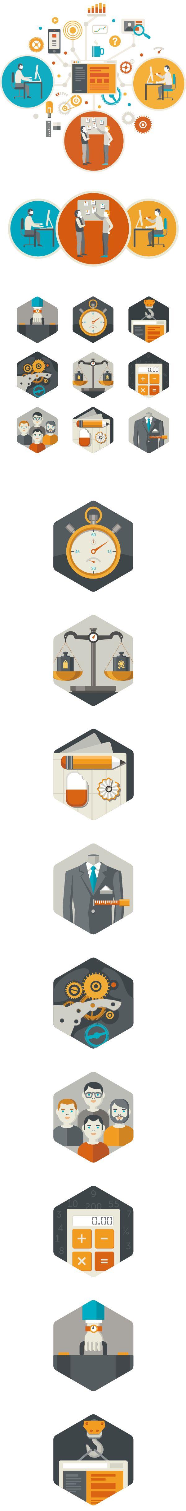 https://www.behance.net/gallery/14454297/Illustrations-for-FireArt-web-studio