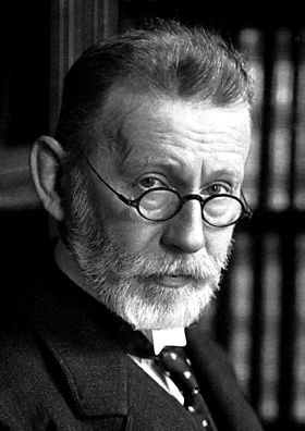 Paul Ehrlich: salvarsan first synthetic drug- sulfonamides- to treat syphilis