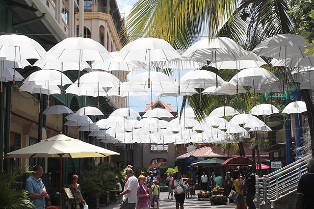 Art installation in the capital's waterfront shopping centre, Le Caudan. . . . . #lecaudan #lecaudanwaterfront #shopping #portlouis #porlwi #mauritius #africa #travelmauritius #umbrellas #travelphotography by ctc.photog_. travelmauritius #lecaudan #mauritius #africa #porlwi #travelphotography #portlouis #umbrellas #lecaudanwaterfront #shopping #love #TagsForLikes #TagsForLikesApp #TFLers #tweegram #photooftheday #20likes #amazing #smile #follow4follow #like4like #look #instalike #igers…