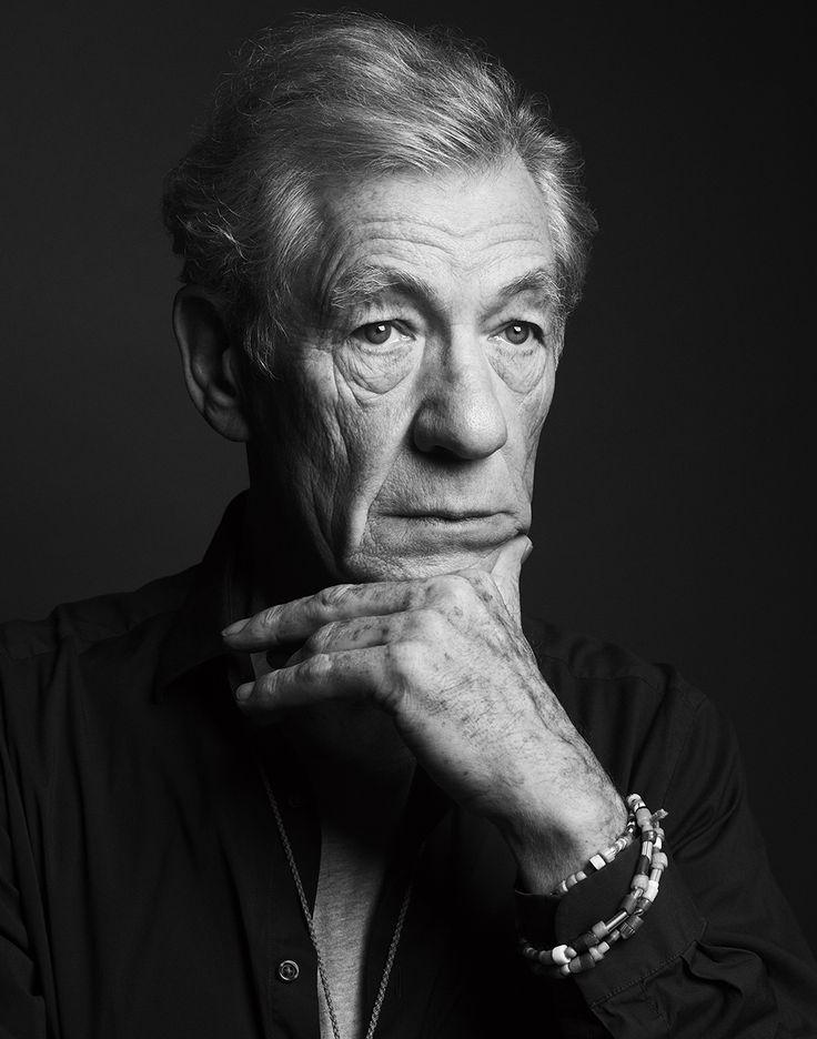 Soft Portrait Lighting: Sir Ian McKellen | photo by Matt Holyoak via http://www.mattholyoak.co.uk/editorial#