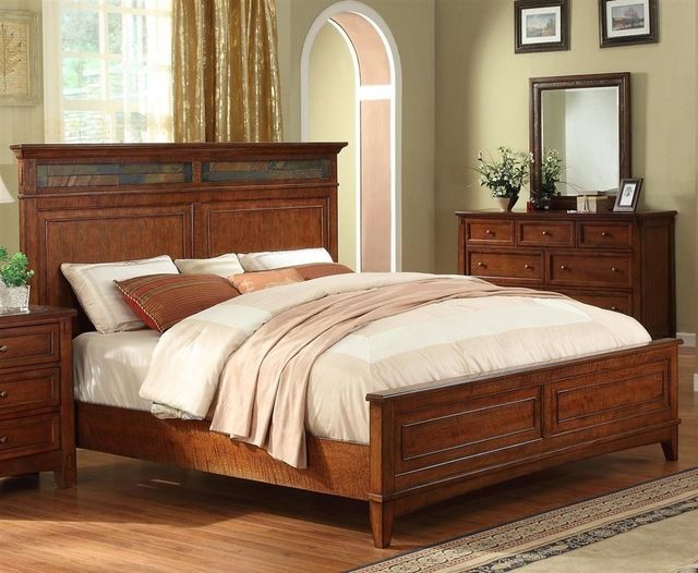 Craftsman Home Craftsman Home Panel Bed rustic-panel-beds