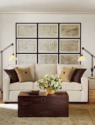 Lovely neutrals pottery barn living rooms pinterest cool walls pottery and wall decor for Pottery barn living room ideas pinterest