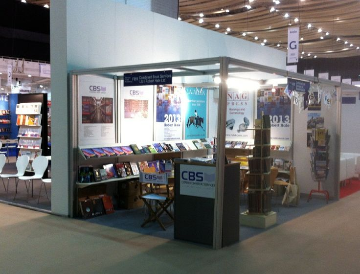 CBS at the London Book Fair 2013.