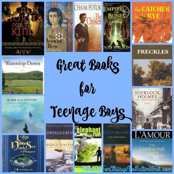 Excellent Books for Teenage Boys | education | homeschool | high school