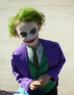 diy kid joker costume - Google Search