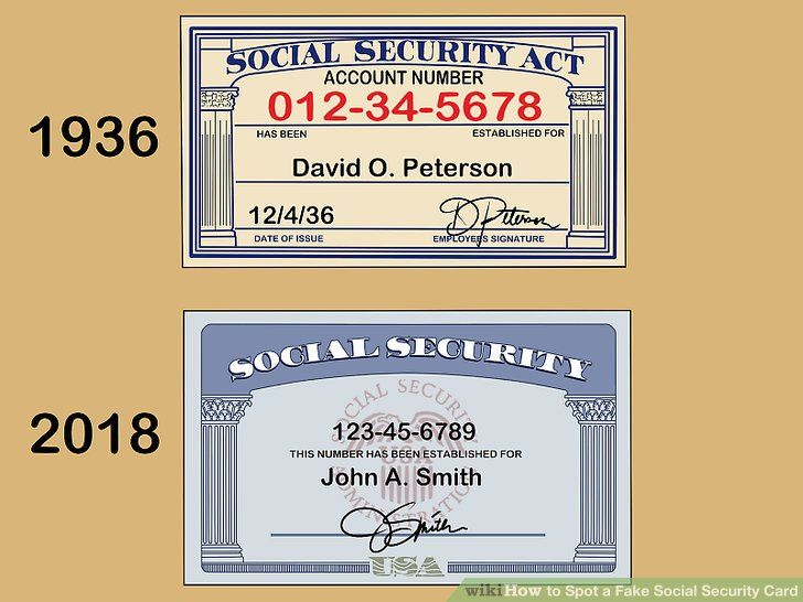 How to spot a fake social security card in 2020 social