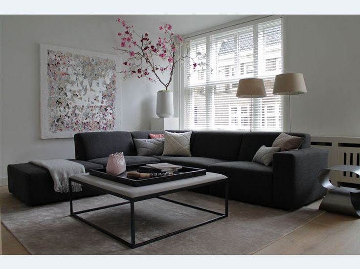 25 beste idee n over modern appartement interieur alleen op pinterest moderne inrichting. Black Bedroom Furniture Sets. Home Design Ideas