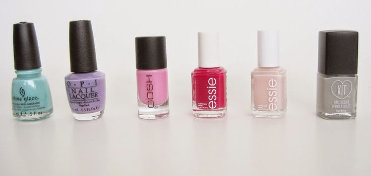 Cupcakes & Cateyes: 6 Colours for Spring: Lips + Nails