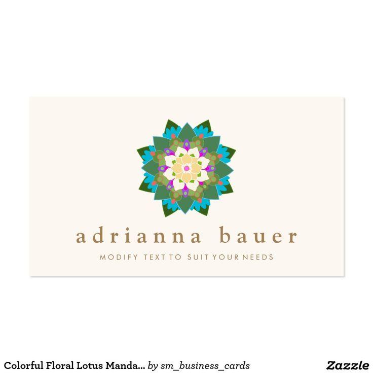 11 best Lotus Flower Business Cards images on Pinterest | Wellness ...