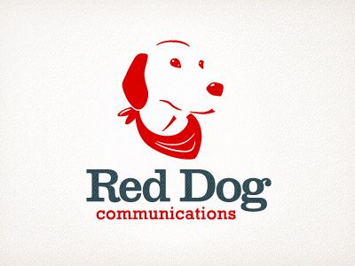 Red Dog #logo Cute dog, but not quite my style