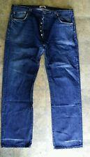 Jean LEVI'S pantalon jeans homme LEVIS 501 W 40 L 34 bleu brut coupe droite